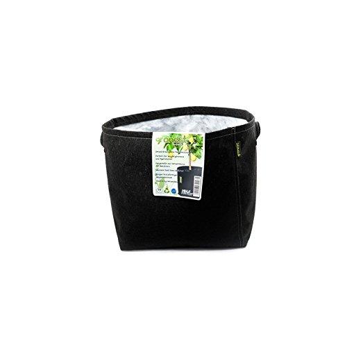Gronest 1-L 2-L 4-L 8-L 11-L 15-L 19-L 25-L Topf (1, 19-Liter) Textil Blumen Stoff Kübel Container Behälter Grow Hydro-kultur Eckig Aussaattopf Saat-topf Pflanzkorb