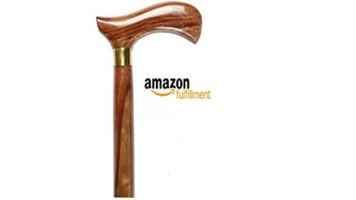 PHYSIQO® Walking Stick For Men/Women/Old People(36 Inch)(Wooden)