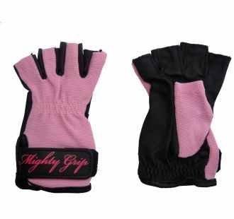 POLE DANCE Handschuhe von Mighty Grip (klein, nicht kl, Rosa)