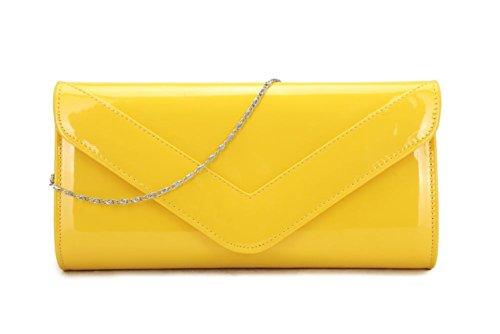 Elegant Fashions - Borsa a tracolla Ragazza donna Unisex, neonati White