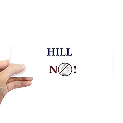 CafePress - Anti-Hillary Bumper Sticker - 10