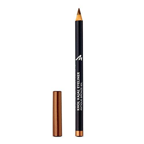 Manhattan Khol Kajal Eyeliner - Brauner Kohle-Kajalstift mit Schimmereffekt für Smokey Eyes und eine perfekt umrandete Augenkontur - Farbe Antique Bronze 93L - 1 x 1,3g