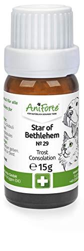 AniForte Star of Betlehem Globuli für Hunde, Katzen, Haustiere - Bachblüten zur Beruhigung bei emotional belastenden Situationen, Schock-Erlebnis (Trost Spenden)