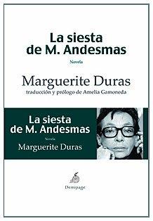 Siesta De M.Andesmas,La (Narrativa)