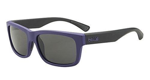 Bolle Purple-black Daemon Wayfarer Sunglasses Lens Category 3 Lens Mirrored