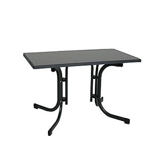 Ribelli Klapptisch Esstisch Gartentisch 110x70x70cm   Klappbarer Tisch  Höhenverstellbar Für Den Garten, Als Beistelltisch Oder