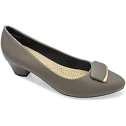 tresmode Women's Grey Ballet Flats