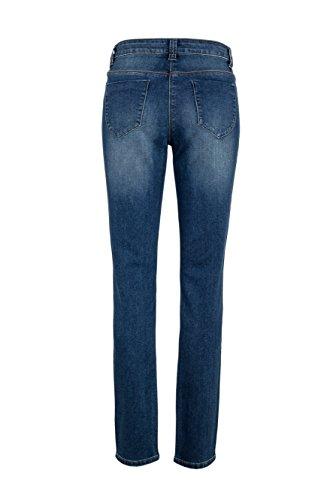 WomensBest Courir Jeans RIO de la femme Blue Denim