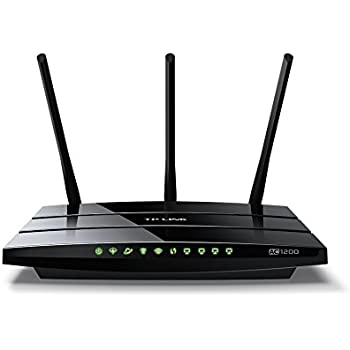 TP-Link Archer VR400 Modem Router ADSL/VDSL (Fibra) AC1200, Wi-Fi Dual Band, Supporto 3G/4G Backup Dongle USB, 3 Porte LAN + 1 Porta WAN, USB 2.0, App Tether Android, iOS