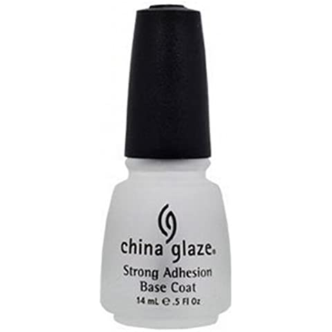 China Glaze CGB - Capa base de adhesion fuerte, 14 ml