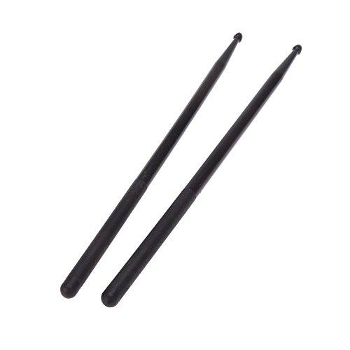 sodialrpair-of-5a-drumsticks-nylon-stick-for-drum-set-lightweight-professional-black