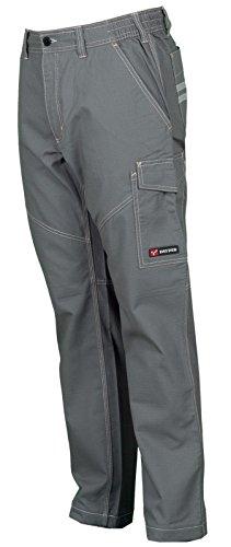 Pantalone da Lavoro Cotone Estivo Leggero Con Tasconi Payper Worker Summer, Colore: Smoke, Taglia: S