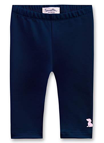 Sanetta Baby-Mädchen Leggings Blau (Deep Blue 5993) 86 (Herstellergröße: 086) -