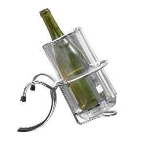 Seau vin champagne en acrylique porte seau pour table for Porte seau a champagne