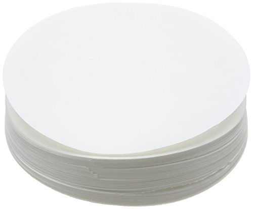 Camlab 1171115 Grade 155 [50] Qualitative Wet Strength Filter Paper, 90 mm Diameter (Pack of 100)