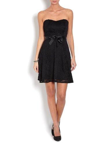 Morgan - Robe - Bustier - Uni - Sans manche - Femme Noir