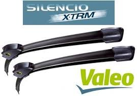 Coppia spazzole tergicristallo anteriori Valeo 550/500 mm