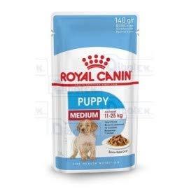 Royal Canin pour Chien Medium Puppy 1Sachet de 140,00GR
