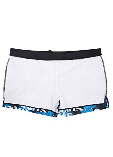 OUO Badehose Herren Männer Schwimmhose Surfhose Wassersport kurze Hose Blau 02