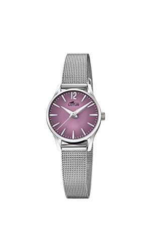 Lotus Watches Womens Analogue Classic Quartz Watch with Stainless Steel Strap 18571/3