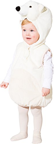 bär Eisbärweste Eisbärkostüm Gr.104 (Eisbär Kinder Kostüm)