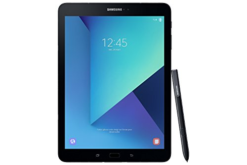 Samsung Galaxy Tab S3 T825 24,58 cm (9,68 Zoll) Touchscreen Tablet PC (Quad Core 4GB RAM 32GB eMMC LTE Android 7,0) schwarz inkl. S Pen - 7-zoll-tablet Samsung Tastatur