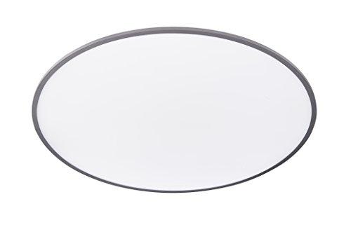 WOFI Deckenleuchte Aluminium Integriert, 62 W, Silber 100 x 100 cm