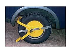 ster sabot immobilisateur de roue complet pour voiture remorque et caravane 13 15. Black Bedroom Furniture Sets. Home Design Ideas