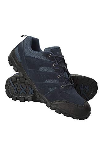 Mountain Warehouse Zapatillas Outdoor para Hombre - Ante, Zapatillas de montaña Transpirables, Resistentes...