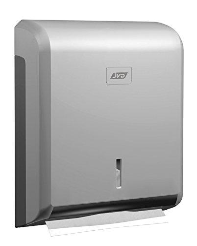 JVD -Distributeur essuie-mains pliage Z JVD Collection Cleanline ABS gris métal