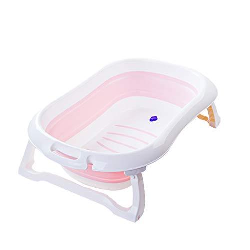ZHYXJ-Bathtub Baignoires Baignoire-BéBé Enfant en Bas âGe pour Nourrissons Pliable Thermosensibles Fonction Enfants Excellent PP+TPR
