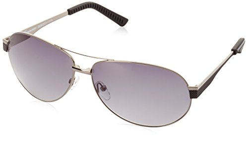 Klassische Marken Sonnenbrille für Herren von Burgmeister mit 100% UV Schutz | Sonnenbrille mit stabiler Metallfassung, hochwertigem Brillenetui, Brillenbeutel und 2 Jahren Garantie | SBM201-111A