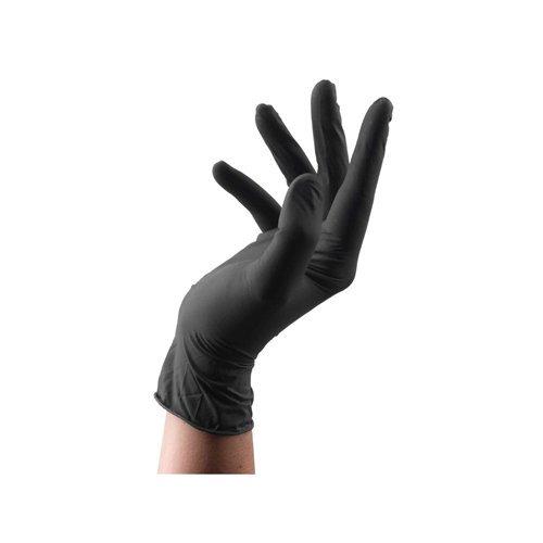Clean All - Gants Black Latex /100 S