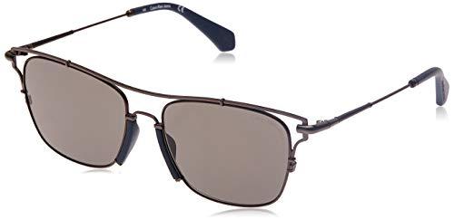 Calvin klein jeans ckj166s 8 occhiali da sole, nero (schwarz), 55 uomo