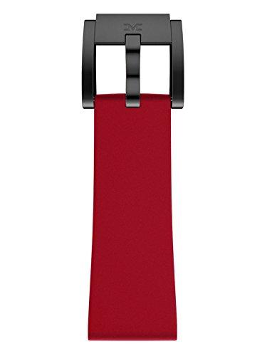 TW Steel Marc Coblen Armband Uhrenband Silikon 22 MM rot SB_R_B