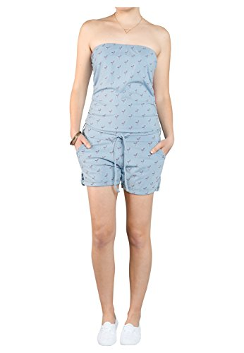Sublevel Femme Combinaisons Jumpsuits / Ensembles mode Dob Bleu