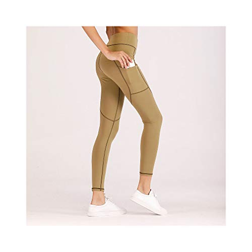 565b855ae99adc Female High Waist Workout Leggings Sexy Push Up Fitness Pocket