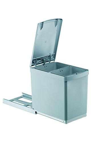 PYRAMIS 038000501 Einbau Abfallsammler 2X 7,5 L 2-Fach Mülltrennung