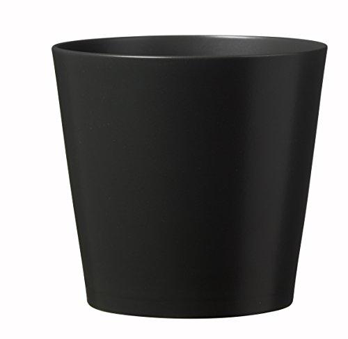 Soendgen Keramik Blumenübertopf, Dallas Esprit, anthrazit, 28 x 28 x 27 cm, 0078/0028/0207 (Pflanzen Ton-topf Für)
