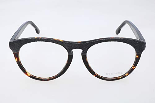 Diesel brillengestelle dl5204 056-53-17-145 montature, marrone (brown), 53.0 unisex-adulto