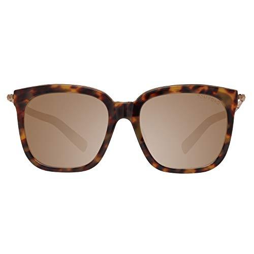 Tom Ford Unisex-Erwachsene FT0483-D 56 55G Sonnenbrille, Braun,