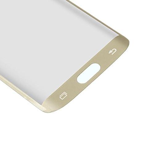Gazechimp Film en Verre Trempé Vitre Protection d'écran pour Samsung Galaxy S6 edge Doré