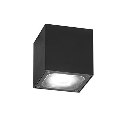 Konstsmide 1x 7852-370 Cesena Veranda/Zelttrauflicht, Aluminium, anthrazit