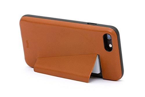 Portefeuille en cuir Bellroy iPhone 8 / 7 Phone Case - 3 cartes Black Caramel