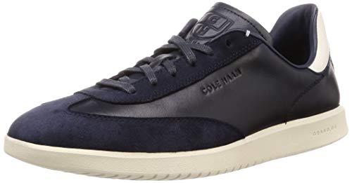 Cole Haan Herren Grandpro Turf Sneaker Turnschuh, Tumbled/Navy Ink Suede/White - Turnschuhe Turf