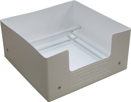 """Petnap Plastic Re-useable dog puppy whelping box (24"""" x 24"""" x 12"""" White) 1"""