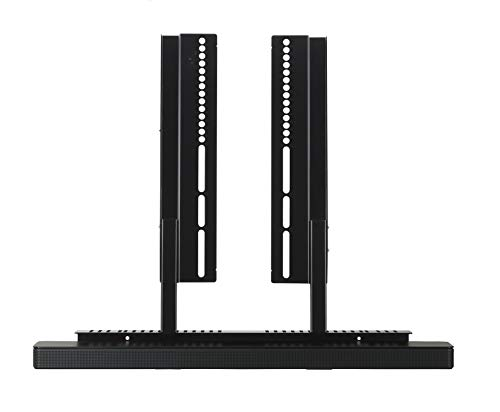 SoundXtra Support TV pour Bose SoundTouch 300, Bose Soundbar 500 et Bose Soundbar 700 - Noir