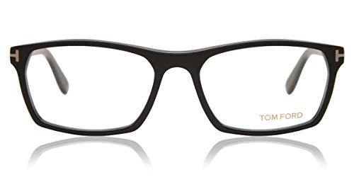 Tom Ford Herren Ft5295 Brillengestelle, Schwarz (NERO OPACO), 56