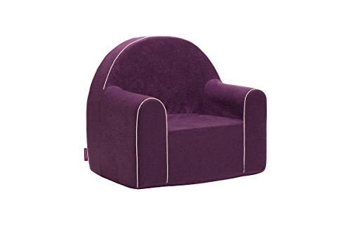 Midi Fauteuil enfant enfants Baby Fauteuil Fauteuil canapé chaise Chaise pour enfant mousse écologique (Violett)
