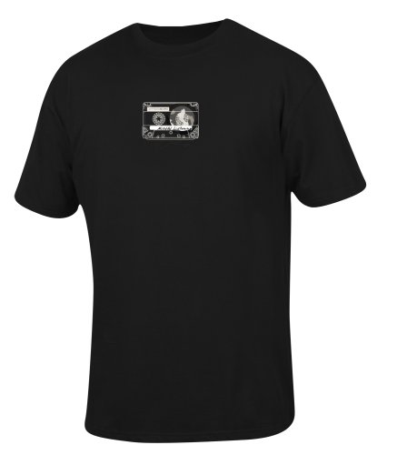 prAna–Herren Acht hören T-Shirt schwarz